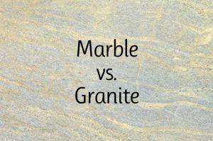 Marble vs. Granite