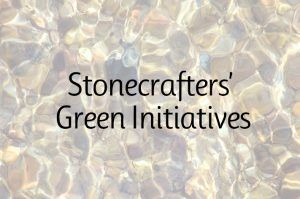 Stonecrafters' Green Initiatives